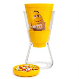 Yellow M&M'S® Character Funnel Candy Dispenser