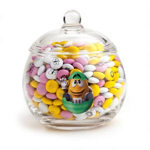 Happy Easter Glass Jar