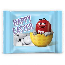 Happy Easter Red Character Candy Favors With Personalized M&M'S® Candies