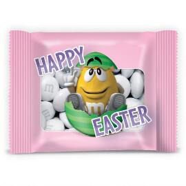 Happy Easter Yellow Character Candy Favors With Personalized M&M'S® Candies