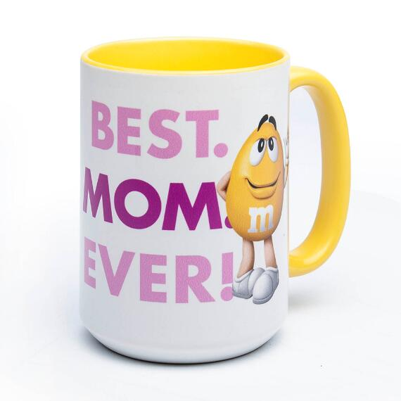 Personalized Mother's Day Yellow Character Mug