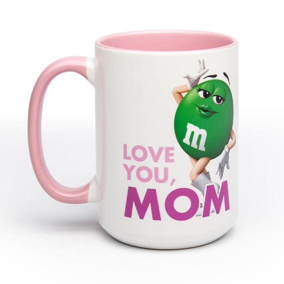 Mother's Day Ms. Green Character Mug