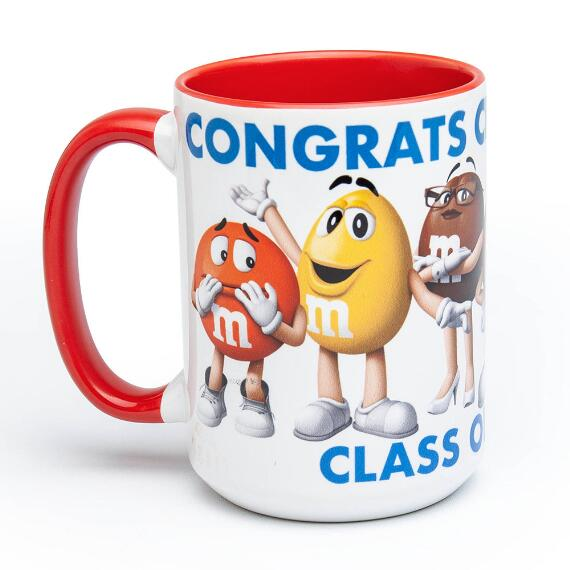 Personalized Graduation Character Mug