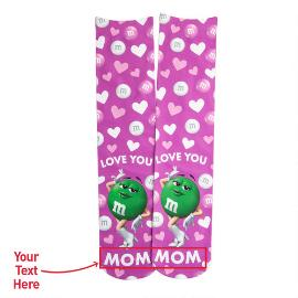 Personalized Mother's Day Ms. Green Character Socks