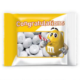 Personalized Yellow Character Congratulations Party Favor Packs