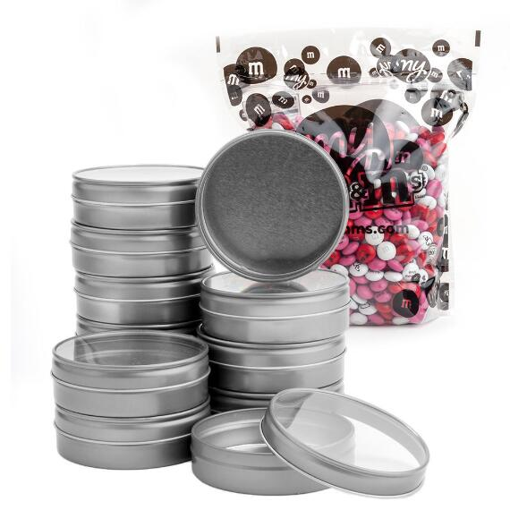 Bulk Candy Tins Favor Kit (24 Count)