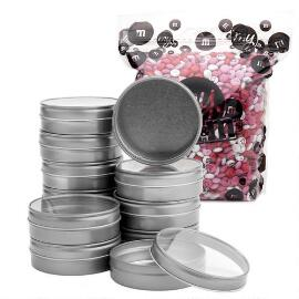 Bulk Candy Tins Favor Kit (48 Count)