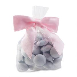 MY M&M'S® Party Favor Bags with Pink Ribbon