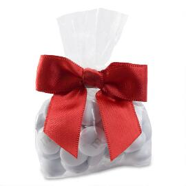 Candy Favor Bags with Red Ribbon