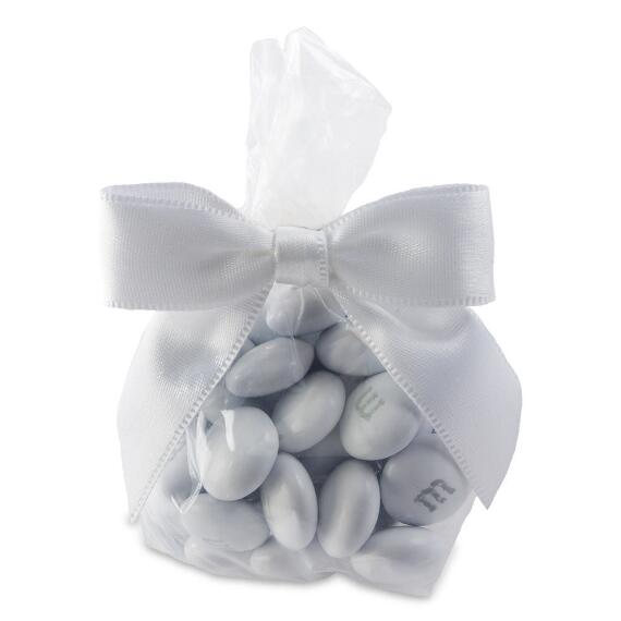 Candy Favor Bags with White Ribbon