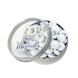 Just Married Wedding Favor Tins
