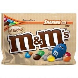M&M'S® Almond Chocolate 9.3 Oz. Bag, Sharing Size