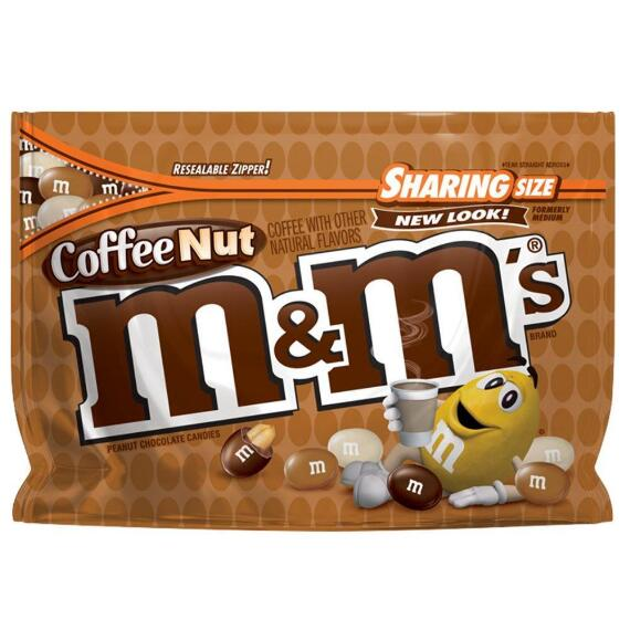 M&M'S® Coffee Nut Chocolate 9.6 Oz. Bag, Sharing Size