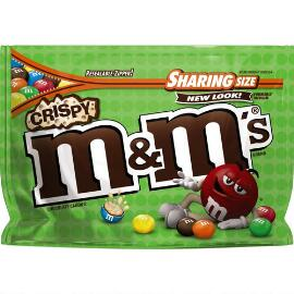 M&M'S® Crispy Chocolate 8 Oz. Bag, Sharing Size