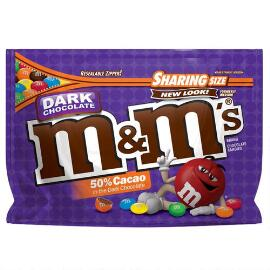 M&M'S® Dark Chocolate 10.1 Oz. Bag, Sharing Size
