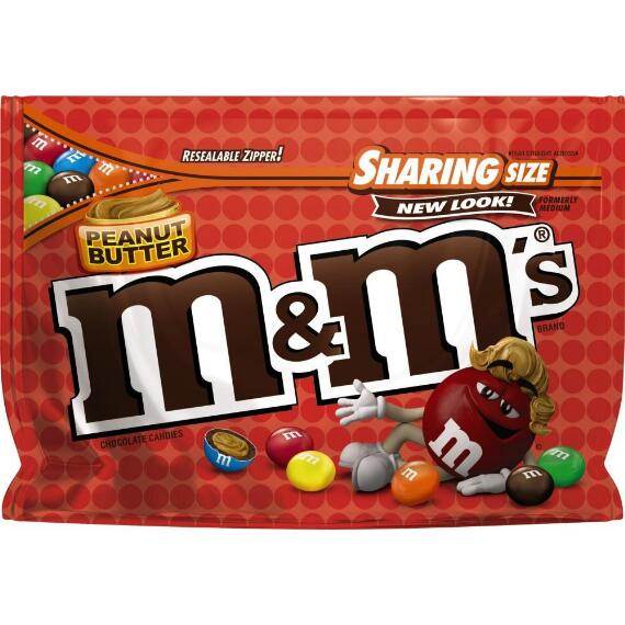 M&M'S® Peanut Butter Chocolate 9.6 Oz. Bag, Sharing Size