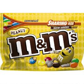 M&M'S® Peanut Chocolate 10.7 Oz. Bag, Sharing Size