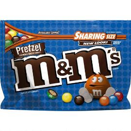 M&M'S® Pretzel Chocolate 8 oz. Bag, Sharing Size