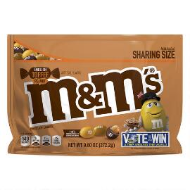 M&M'S® English Toffee Peanut 9.6 Oz. Bag, Sharing Size