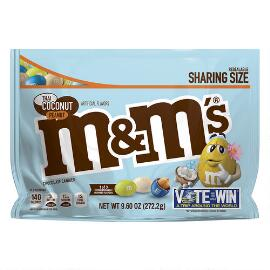 M&M'S® Thai Coconut Peanut 9.6 Oz. Bag, Sharing Size