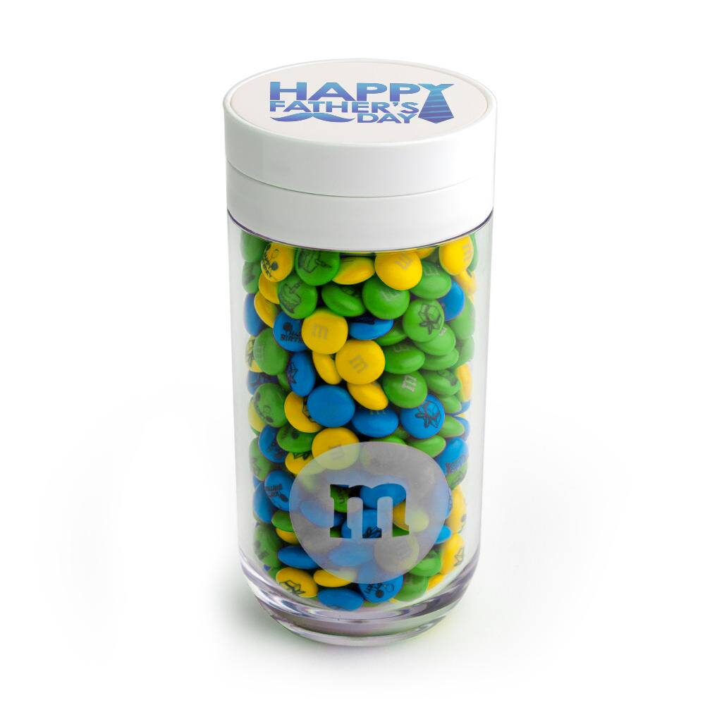 Father's Day Gift Jar & Personalized M&M'S