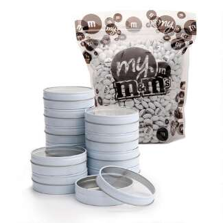 White Tins DIY Favor Kit