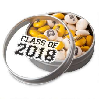 Class of 2018 Favor Tin