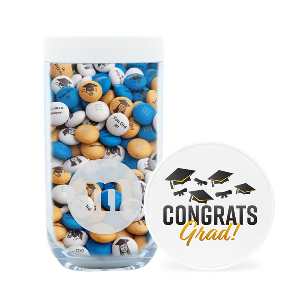Congrats Grad Gift Jar & Personalized M&M'S®