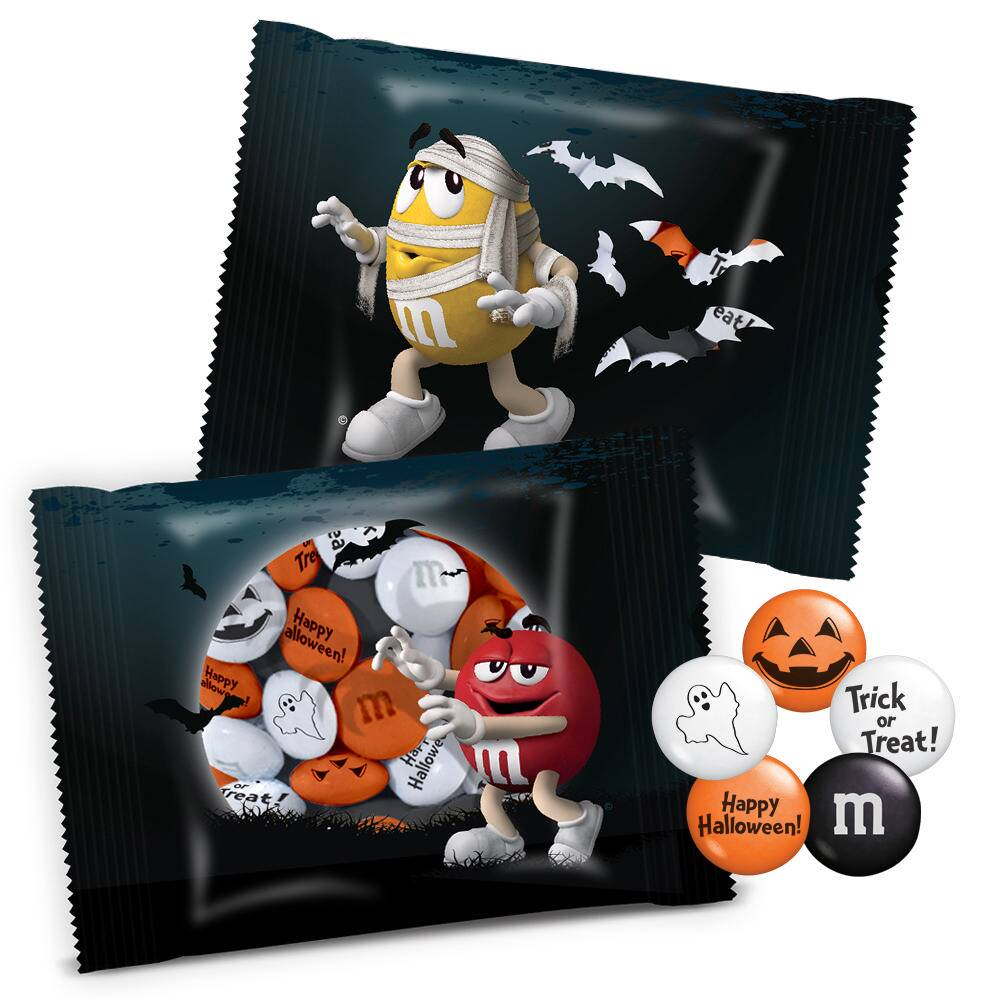 Individual M&M'S Halloween Party Favors