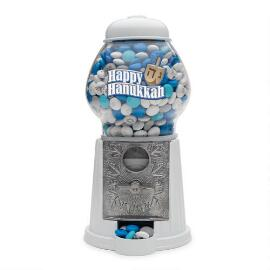 Happy Hanukkah M&M'S® Dispenser & Personalized M&M'S®