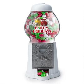 Happy Holidays M&M'S® Characters Candy Dispenser & Personalized M&M'S®