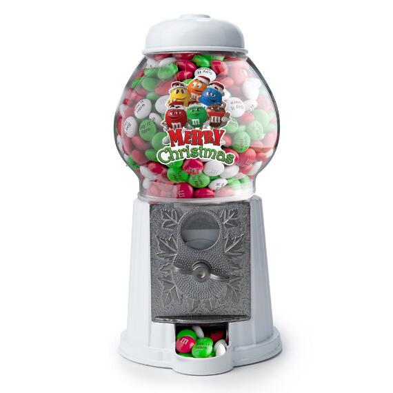 Merry Christmas M&M'S® Characters Candy Dispenser & Personalized M&M'S®