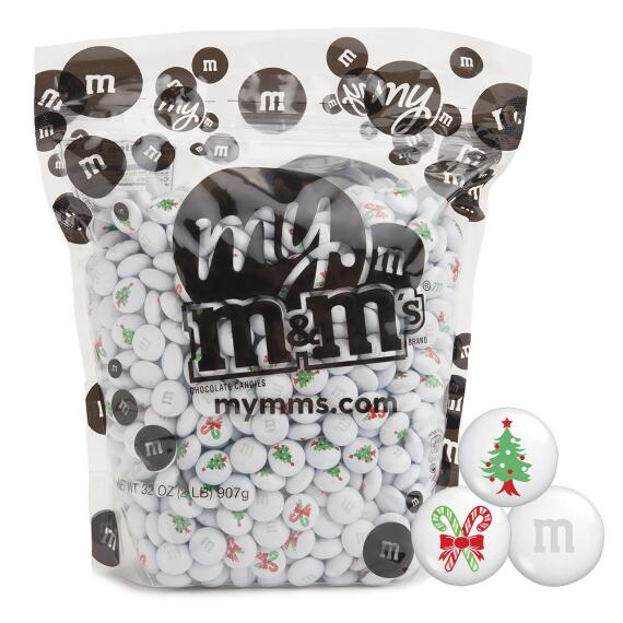 M&M'S® 2-lb Christmas Tree Candy Cane Blend