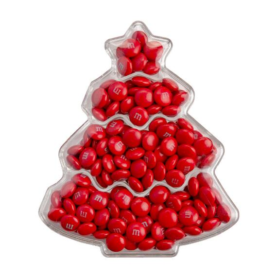 Christmas Tree Acrylic with Red M&M'S® Candies