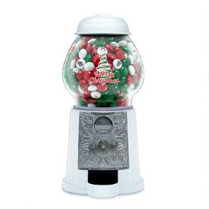 Christmas Tree Candy Dispenser with Personalized M&M'S