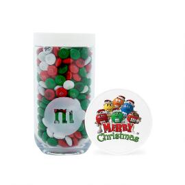 Merry Christmas M&M'S® Characters Gifting Jar & Personalized M&M'S®