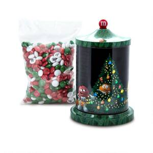 Musical Christmas Tin & Personalized M&M'S