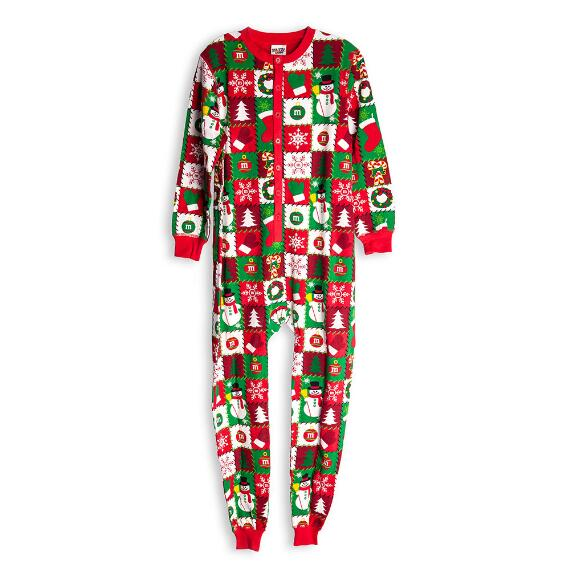 Unisex Adult M&M'S® Christmas Onesie