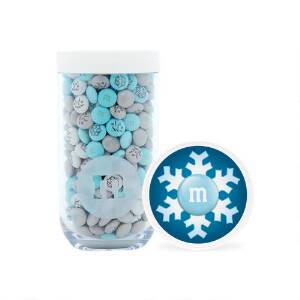 Winter Gifting Jar with Personalized M&M'S