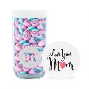 Love You Mom Gift Jar & Personalized M&M'S
