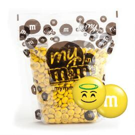 MY M&M'S® MY MOODS™ Angel Halo 2-lb (907g) Bulk Bag