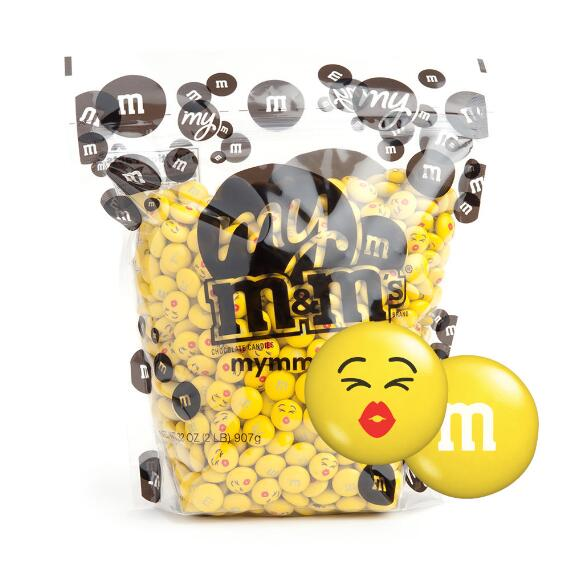 My M&M'S® MY MOODS™ Kissy Face 2-lb (907g) Bulk Bag