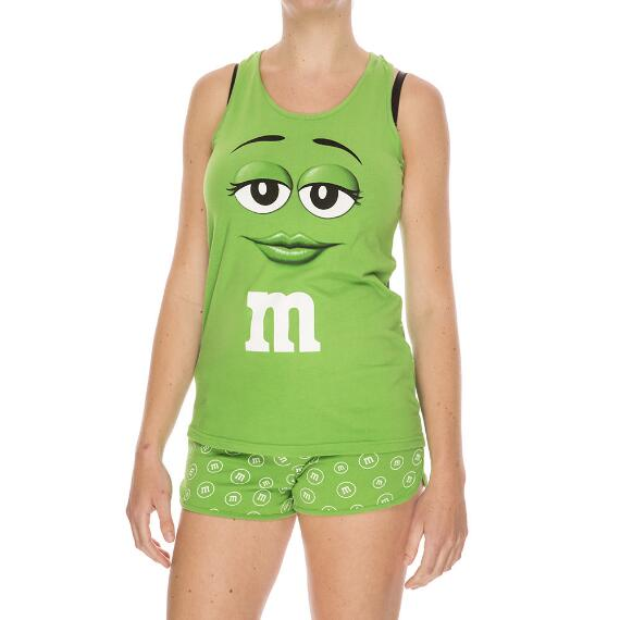 Green M&M'S® Character Tank and Tee