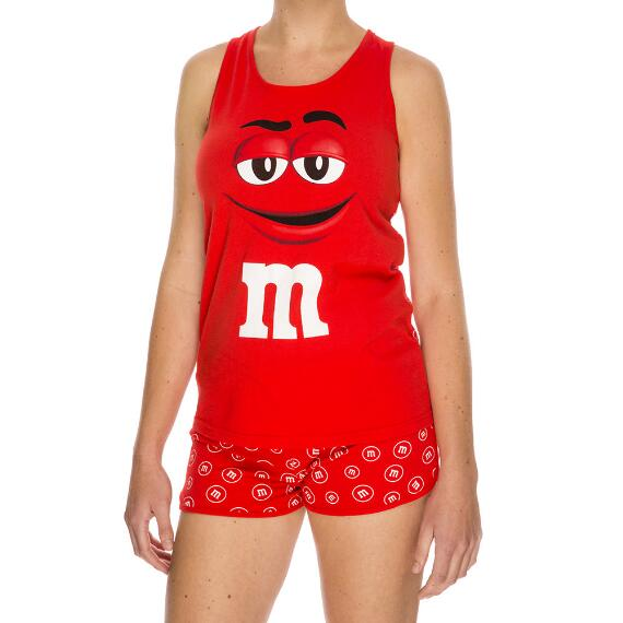 Red M&M'S® Character Tank and Tee