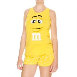 Yellow M&M'S® Character Tank and Tee