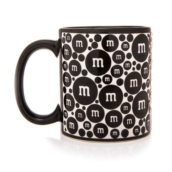 Black M&M'S® Sand Blasted Mug