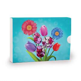 Chocolate Flowers Gift Box & Personalized M&M'S®