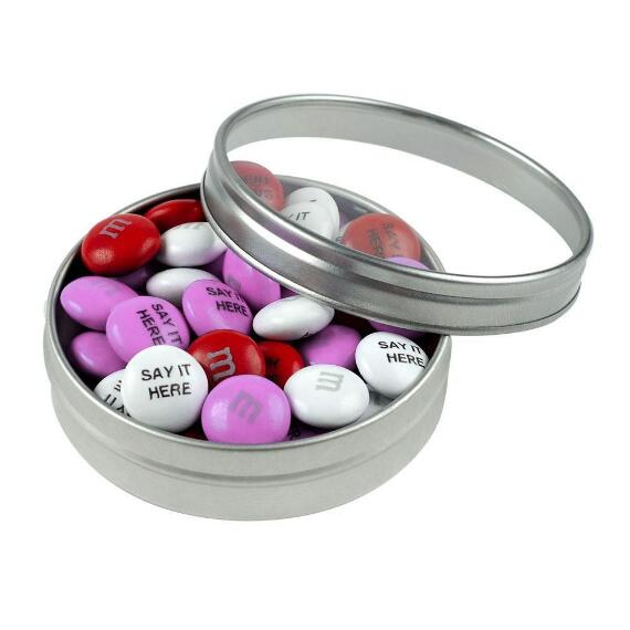 Filled Candy Tins with Personalized M&M'S®
