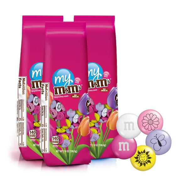 3 Spring M&M'S® Candy Bags