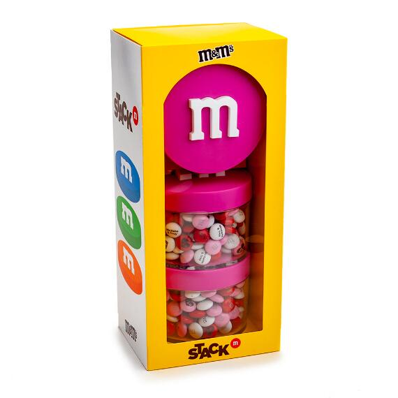 Pink Stack 'm M&M'S® Gift Box